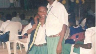 Photo of Throwback Photo Of Wizkid In Secondary School