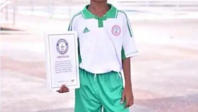 Photo of 11-Year-Old Footballer Set A Guinness World Record