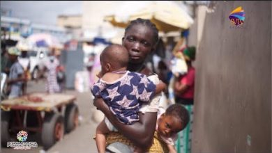 Photo of Single Mother Selling Pure Water With Twin Babies Receives GH¢ 3,300