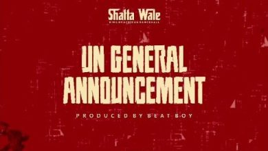 Photo of Shatta Wale – UN General Announcement (Samini Diss)