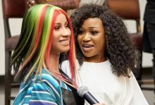 Photo of Cardi B Reacts To Akuapem Poloo's Her Twinnie on 90 Days Sentencing