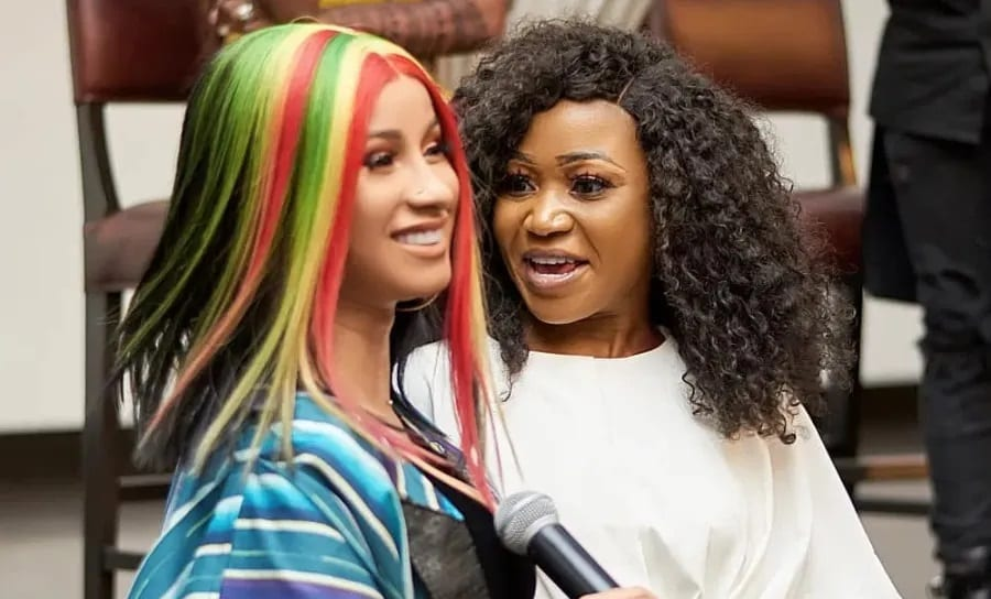 Cardi B Reacts To Akuapem Poloo's Her Twinnie on 90 Days Sentencing